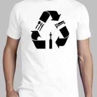 Baju Kaos Pria T-Shirt Vape Eat Sleep Repeat Good Quality HQ Realpic