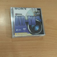 harga SONY DVD-RW Mini 30menit 1.4GB / Double Sided Disc / Handycam Tokopedia.com