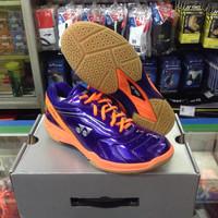 Sepatu Badminton / Bulutangkis Yonex SRCI 65R Purple/Orange