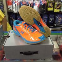 Sepatu Badminton / Bulutangkis Yonex SRCI 65R Orange/Blue