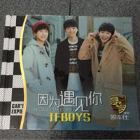 cd tfboys 3 disc import original