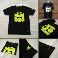 T-Shirt / Kaos ADIDAS MESUT OZIL BASIC Black/White/Grey/Red