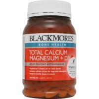 BLACKMORES TOTAL CALCIUM MAGNESIUM + D3 - 200 TAB