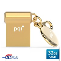 Flash drive PQI 32GB U838V USB 3.0 - Gold