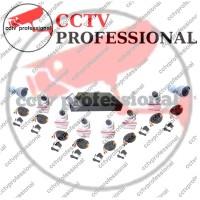Paket promo AHD 8 channel cctv lengkap