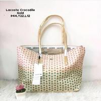 Tas wanita importcewek wanita murah,Lacoste Stripe dan Buaya