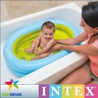Jual INTEX Tempat Bak Kolam Mandi Bayi + Pompa   Baby Bath Tub   Hi Quality Murah
