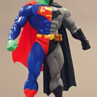 Mainan Acton Figure Composite Superman Batman