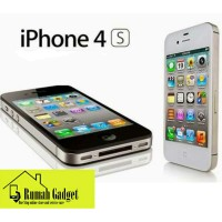 Iphone 4s 32gb Black / White Brand New In Box Garansi Platinum 1 Years