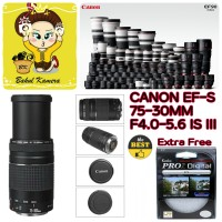 LENSA CANON EF 75-300mm F4.0-5.6 IS III / CANON EF S 75-300mm