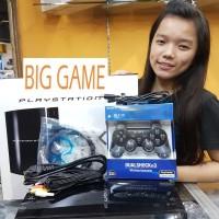 playstation 3 (PS3) fat 500gb + stik wireles + kabel hdmi