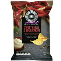 RED ROCK DELI POTATO CHIPS SWEET CHILI & SOUR CREAM