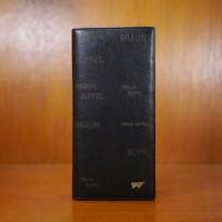 Dompet Kulit Pria Braun Buffel DP-1002-08 Black