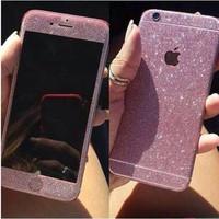 Garskin Glitter / Sticker Glitter Iphone 5 & Iphone 6