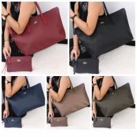 Tas Lacoste Horizontal Tote Bags (Tas Wanita Branded Tas Wanita Import