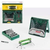 Bosch X-line Set Mata Bor 41Pcs + Mata Obeng Variasi + Extra Hex Key