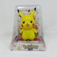 Pajangan Solar Goyang Pikachu Pokemon Go Pocket Monster 12cm