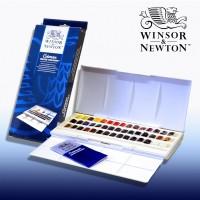 Jual Winsor & Newton Cotman Watercolours Studio Set - 45 Half Pans Murah