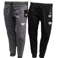 Jual Jogger Bordir Adidas / Celana Training / Adidas Logo Bunga Murah