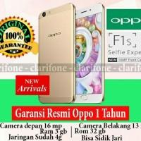 OPPO F1S SELFIE EXPERT RAM 3GB / 32GB GARANSI RESMI OPPO INDONESIA