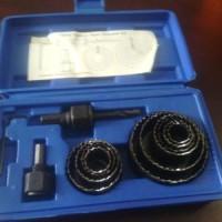harga Holesaw Kit Hole Saw Kit Mata Bor Kayu Set 13pcs Benz PROMO Tokopedia.com