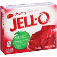 Jello Cherry Gelatin Bubuk gelatin Jelly Agar Agar Pudding Rasa Ceri