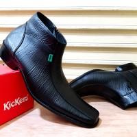 harga Sepatu Pantofel Pria // Sepatu Kulit Pria // Sepatu Kickers Zipper Tokopedia.com