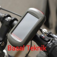 Handlebar Mount Dudukan GPS Garmin Sepeda Motor Etrex Touch 64s Oregon