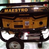 Genset 4tak Maestro 2500w PALING LARIS utk Rumah Tangga Generator Set