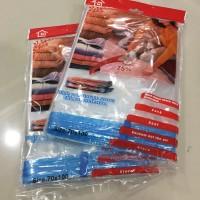 harga [70X100] PLASTIK VACUUM BAG UNTUK PAKAIAN / VAKUM / VACUM Tokopedia.com