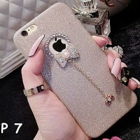 harga FOR IPHONE 7 - CUTE Luxury Crystal Bling Glitter Shine soft case BOW Tokopedia.com