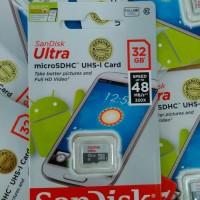 harga mmc micro sd card kartu memori sandisk ultra 32gb memory sundisk 32 gb Tokopedia.com