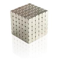 harga Buckycubes Magnetic Block Toys 216pcs 4mm - Silver Tokopedia.com