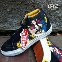 Vans Sk8 Hi the Beatles Yellow Submarine