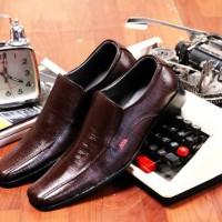 Sepatu Kickers Pria Pantofel Kerja Formal Pesta Resmi Casual Kulit