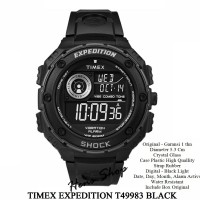 JAM ORIGINAL HZ PRIA TIMEX EXPEDITION T49983 - BLACK Diskon