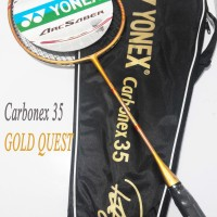 Raket Yonex Carbonex 35 Extended GOLD QUEST Edition Badminton Murah