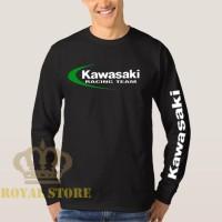 Jual Tshirt / Kaos / Baju Kawasaki Ninja Lengan Panjang - Hitam Murah
