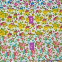 Segi Empat Chiffon Pine / Jilbab Segi Empat / Segi 4 Bunga