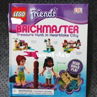Mainan Anak LEGO Friends BRICKMASTER Treasure Hunt in Heartlake City