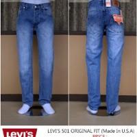 Celana panjang levi`s jeans original 501