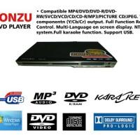 DVD TONZU Model Mini Paling Bandel Baca Semua Kaset