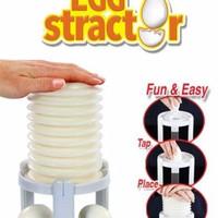 Eggstractor Egg stractor straktor Easy Egg Peeler Pengupas Kulit
