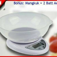Timbangan dapur mangkok digital kitchen scale bowl 5 kg kue mangkuk OK