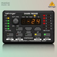 Behringer FBQ100 (Automatic Feedback Destroyer, Noise Gate)