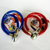 Cable Lock / Kabel Kunci Gembok Sepeda, Motor Berkualitas Super
