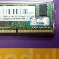 Memory Laptop/Notebook VGEN 4GB DDR4 PC 17000 - 2133 Mhz