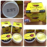 WASHING CREAM VAMPIRE / Sabun Cuci Muka Whitening (Box Kuning) - BPO