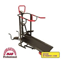 Jual Treadmill Manual 5 fungsi 5 6 1 stepper mini multifungsi push up Murah