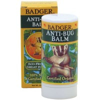 Badger Anti-Bug Balm Stick 42g, Pengusir Nyamuk, Natural & Bebas Kimia